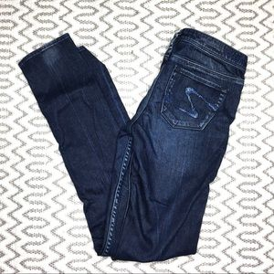 Silver Audrey Low Rise Skinny Jeans size 26/33